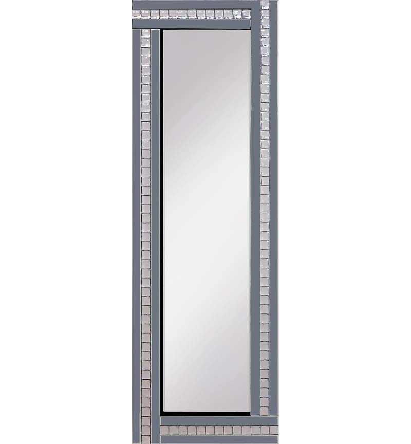 Classic Triple Bar Mirror Smoke 120x40