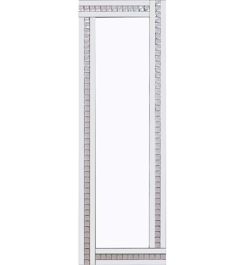 Classic Triple Bar Mirror White 120x40