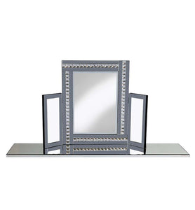 Smoke Dressing Table Mirror