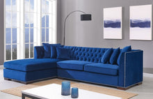 Load image into Gallery viewer, Royal Blue Chester Corner Suite - Left