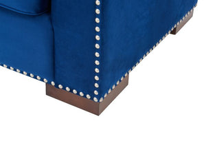 Royal Blue Chester Corner Suite - Right