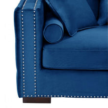 Load image into Gallery viewer, Mayfair Velvet Tufted Royal Blue Corner Suite-Right