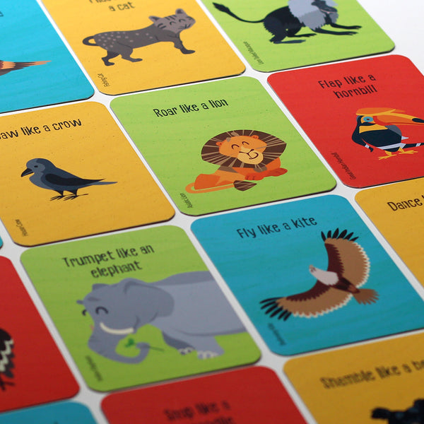 Indian Wild Safari Flashcards
