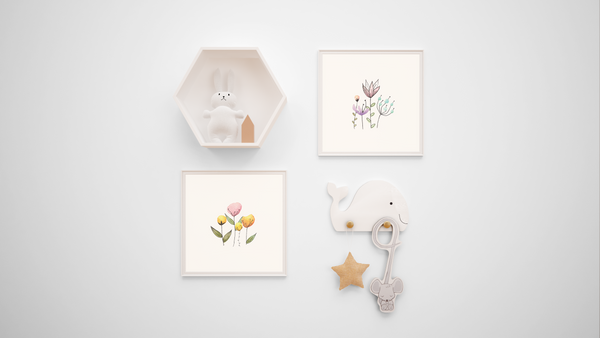 Wildgarden Nursery Prints (Set of 4)