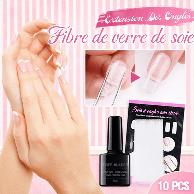 Extension d'Ongles En Fibre de Verre(10pcs)