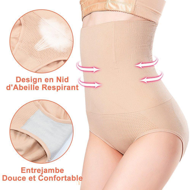 Body Shaping Culotte à Taille Haute