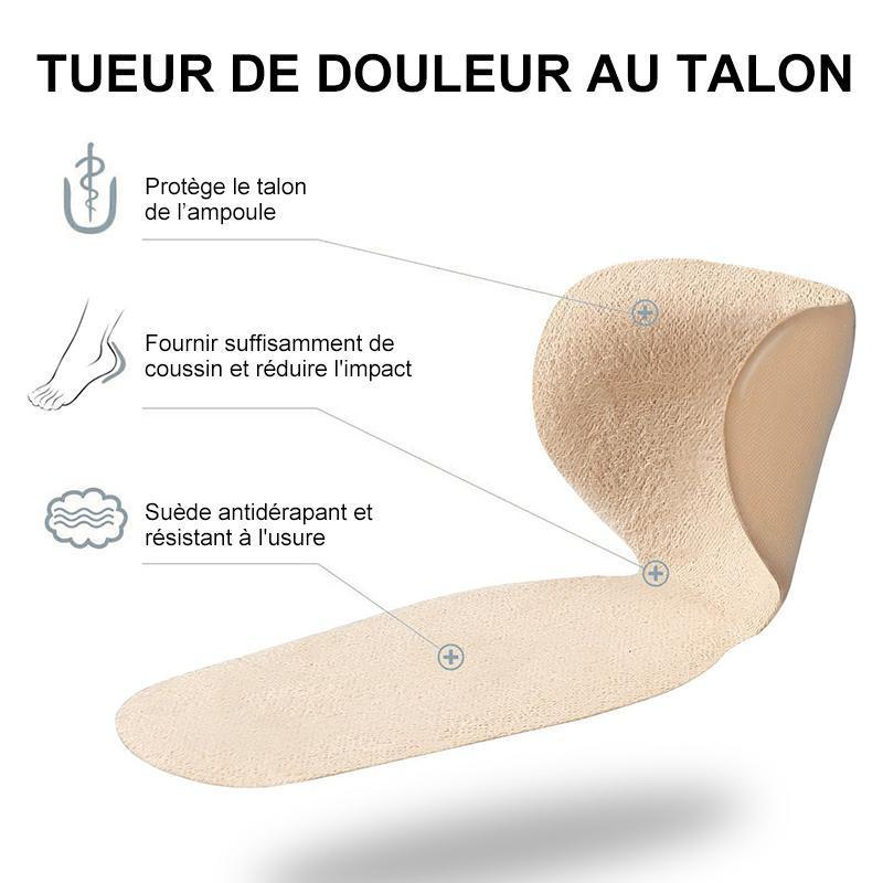 Coussinets de Talon Anti-Ampoule