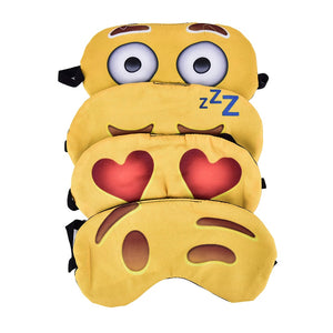 Emoji 3D Sleeping Eye Mask