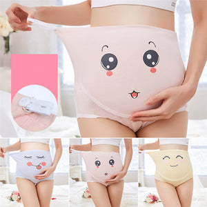 High Waist Belly Support Cartoon Underwear