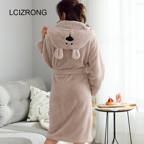 Cute Warm Bathrobe