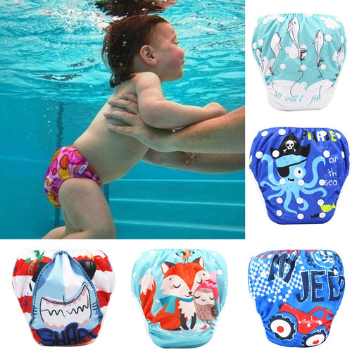 Waterproof Baby Swim Diapers