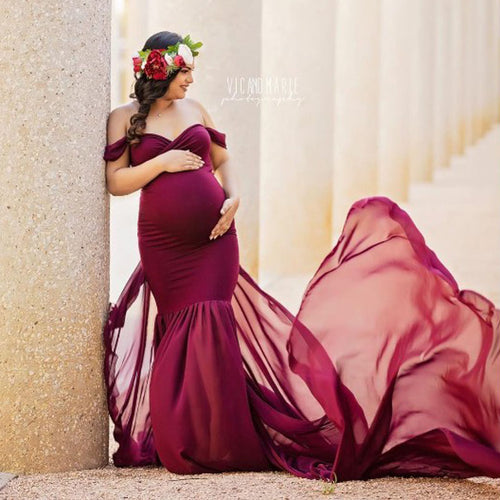 Fishtail Maternity Dress