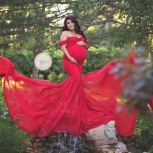 Load image into Gallery viewer, Fishtail Maternity Dress
