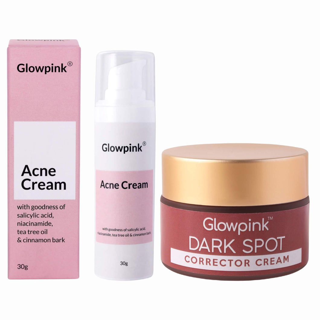 Acne & Acne Scars Clear Combo - Glowpink