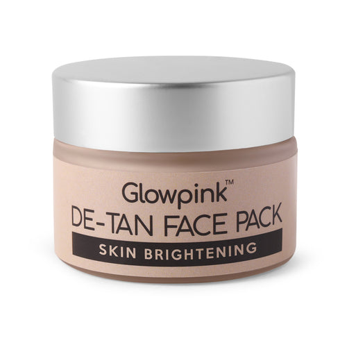 Glowpink DeTan Face Pack Skin Brightening 50g - Glowpink