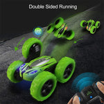 Rotating Double Sided  Car Toy