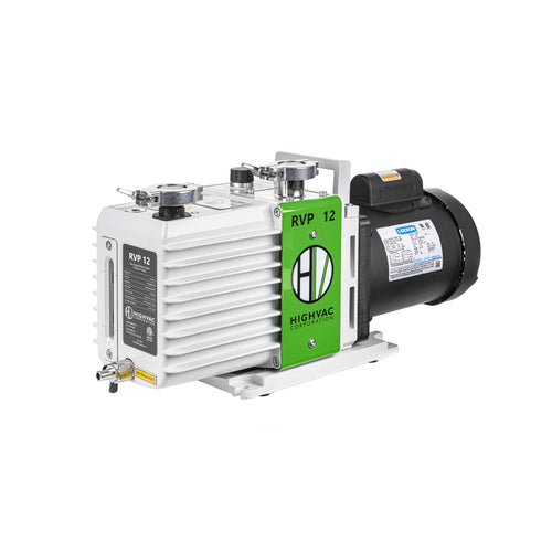 RVP 12 ETL, CSA Certified Two Stage Oil Sealed Rotary Vane Vacuum Pump