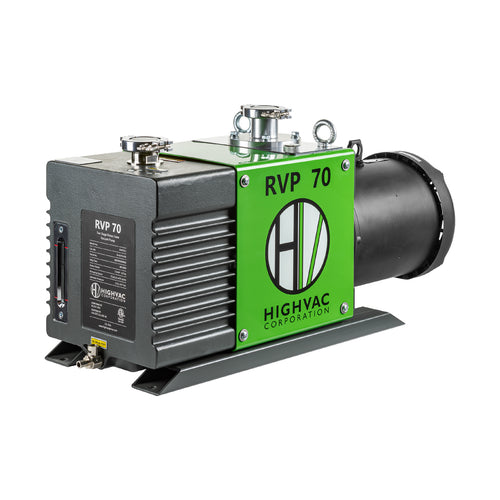 RVP 70 ETL, CSA Certified Two Stage Oil Sealed Rotary Vane Vacuum Pump