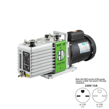 Load image into Gallery viewer, RVP 18 ETL, CSA Certified Two Stage Oil Sealed Rotary Vane Vacuum Pump