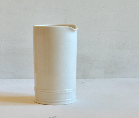 Classical Cream Jug - Plain, Glazed