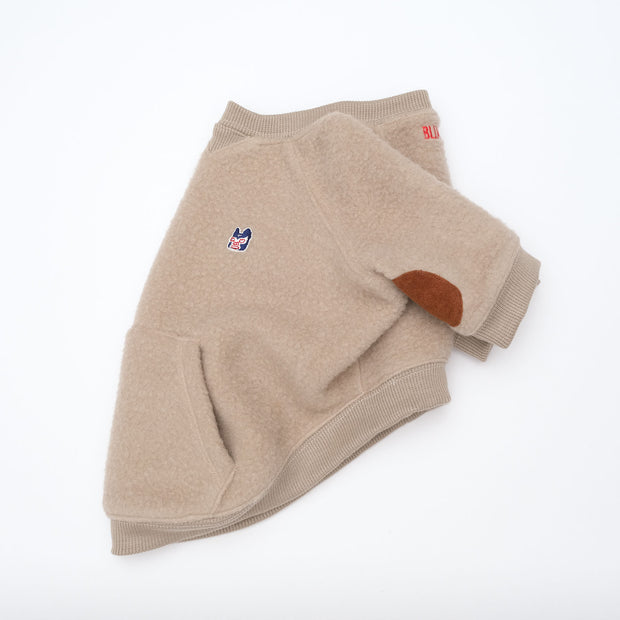 Elbow Patch Fleece