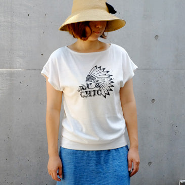 HOOKED ON Dolman-T with PG-Archived-フレンチブルドッグ服
