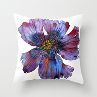 ZENGA Flower Cushion Cover Floral Pillow Cover For Valentine's Day Decorative Pillows for Sofa Polyester Mother's Day Pillowcase