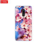 silicon case for xiaomi redmi 8 cases full protection soft tpu back cover on redmi 8 bumper hongmi 8 phone shell bag coque cat