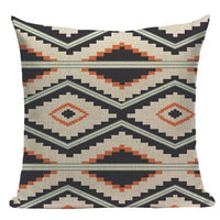 Supplier Village Floral Textil Plaid Stripes Throw Pillows 45Cmx45Cm Square Sofa And Chair 1 Side Printing Pillow Cover Cushion