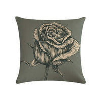 Pillow, vintage flower of flower series HomerDecor Cushion Cover Throw  Pillowcase Pillow  Covers 45 * 45cm Sofa Seat Cushion De