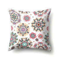 Pillow Case Colorful Cushion Cover Square Geometry Pillowcase Home Decorative Pillows Cover
