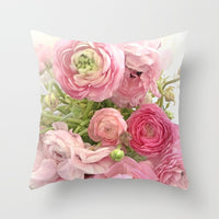 2018 New American Pastoral Style Roses Print Cushion Cover Sofa/Bedside/Car Pillowcase 45x45cm Pillow Covers Home Decorative 1pc