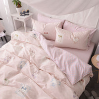 The Lass - Cotton Fitted Bedsheets (A3)