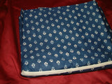 RALPH LAUREN COTE D'AZUR BLUE FLORAL TWIN FLAT TWIN FITTED SHEETS RARE
