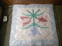 Tulip Bouqet Pillow Case Size 16x16