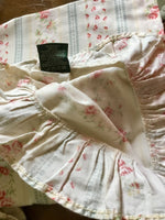 HTF RALPH LAUREN HIGHFIELDS SMALL FLORAL RUFFLED KING PILLOWCASES~EUC