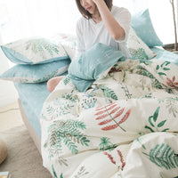 The Natural Summer - Cotton Fitted Bedsheets (B10)