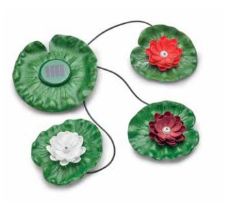 Pontec PondoSolar Lily LED Set 3