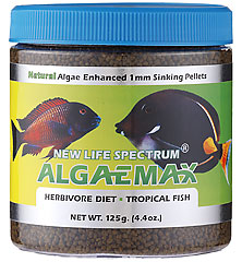 New Life Spectrum Algae Max 1mm 125g