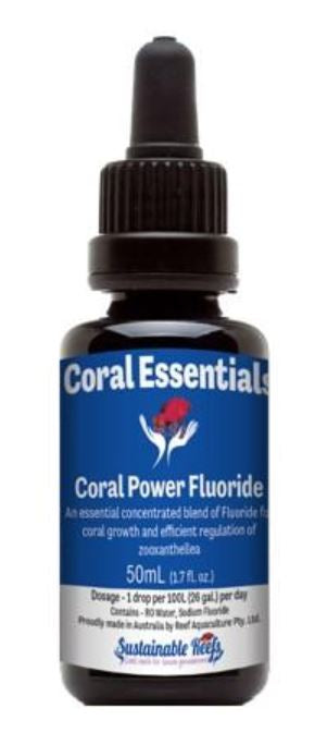 Coral Essentials Coral Power Flouride 50ml