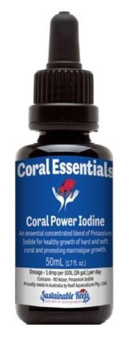 Coral Essentials Coral Power Iodine 50ml