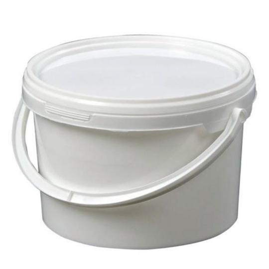 2.5L White Mini Bucket