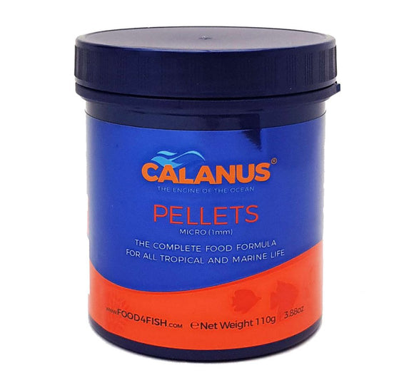 Calanus Marine Food Pellets: Micro 1mm Pellets