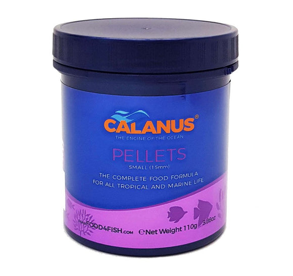 Calanus Marine Food Pellets: Small 1.5mm Pellets