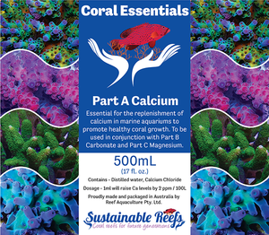 Coral Essentials Calcium + Trace 500ml