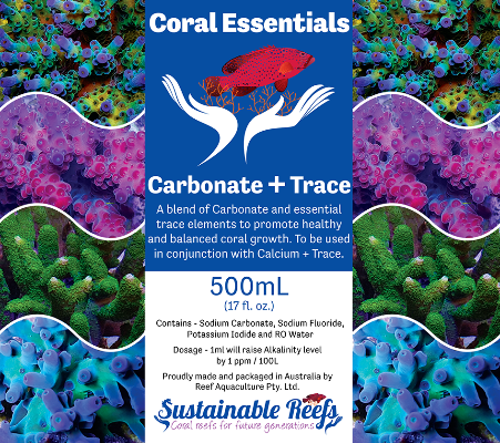 Coral Essentials Carbonate + Trace 500ml