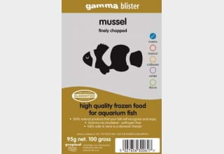 Gamma chopped Mussel Blister