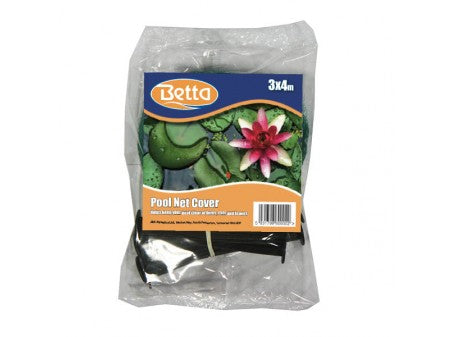 Betta Pond Cover Net 3x4m