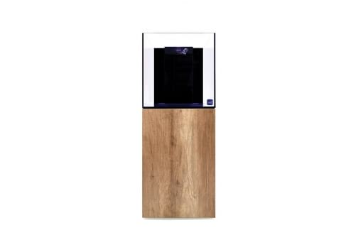 TMC Reef Habitat 50 Aquarium System with Oak Panels & Door Set