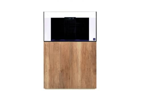 Reef Habitat 90 Aquarium System with Oak Panels & Door Set